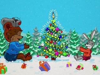 открытка. Прогрессфильм, progresfilm. новый год, новогодняя. с новым годом. поздравление. анимационный ролик. мультик. мультфильм. на заказ. заказать. ценв